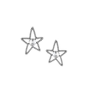 Серьги-звезды Hyde Swarovski с кристаллами DANNIJO