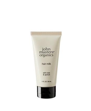 Молочко для волос с розовым абрикосом - 1 эт. унция $ 12.99 John Masters Organics