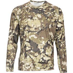Рубашка с круглым вырезом и длинными рукавами Simms SolarFlex Simms
