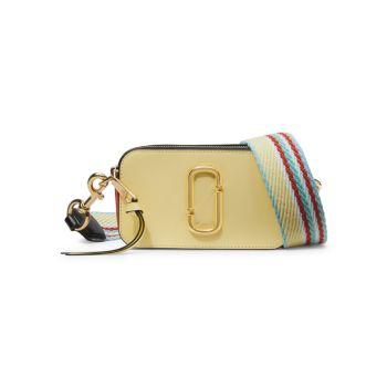 Кожаная сумка для фотоаппарата Snapshot с покрытием Marc Jacobs