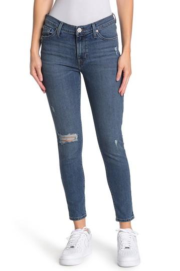 Джинсы-скинни Natalie со средней посадкой до щиколотки Hudson Jeans