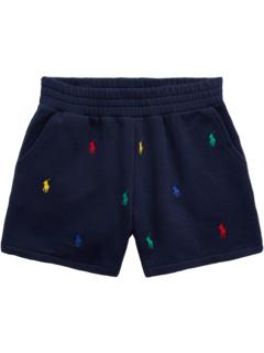 Polo Pony Fleece Shorts (Big Kids) Ralph Lauren