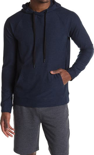Толстовка-пуловер с потертостями 90 Degree By Reflex