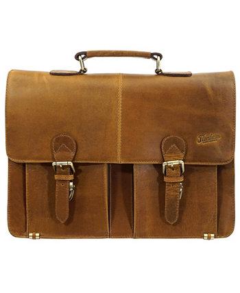 Кожаная портфельная сумка Florsheim