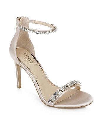 Women's Campbell Embellished High Heel Sandal Jewel Badgley Mischka