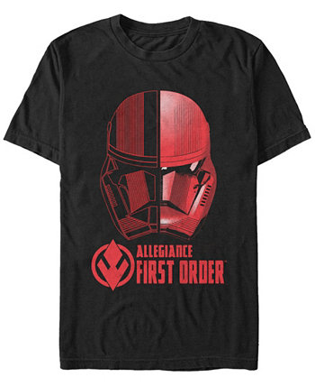 Мужская футболка Rise Of Skywalker первого порядка Allegiance Sith Trooper с коротким рукавом Star Wars