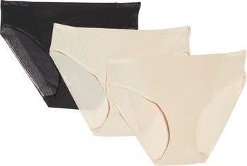 Пакет TC из 3 трусиков-хипстеров с микро-сеткой TC Fine Shapewear