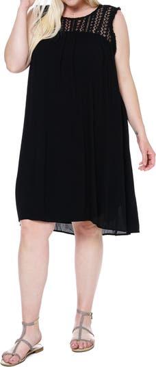 Платье без рукавов с высоким вырезом SINGLE THREAD