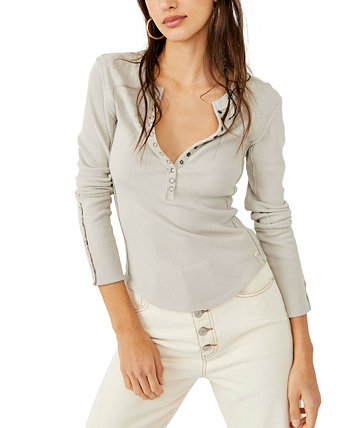 Nailed It Henley Top Free People