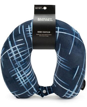 Подушка для шеи для путешествий из пены с эффектом памяти Badgley Mischka