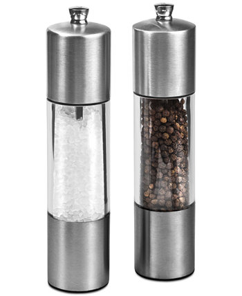 Подарочный набор для мельницы для соли и перца из нержавеющей стали на каждый день Cole & Mason