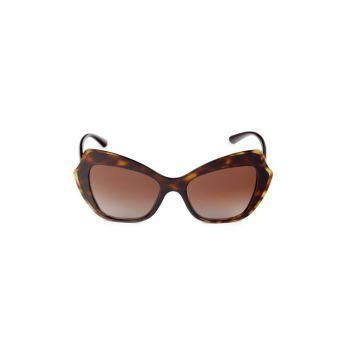 """Солнцезащитные очки """"кошачий глаз"""" 52 мм DOLCE&GABBANA"""