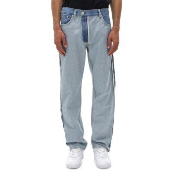 Прямые джинсы наизнанку Helmut Lang