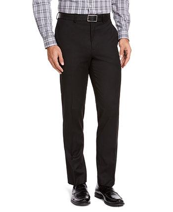 Мужские классические брюки среднего размера в классическом стиле IZOD