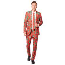 Мужской праздничный приталенный костюм и галстук Suitmeister Suitmeister