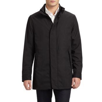 Матричное пальто Emporio Armani
