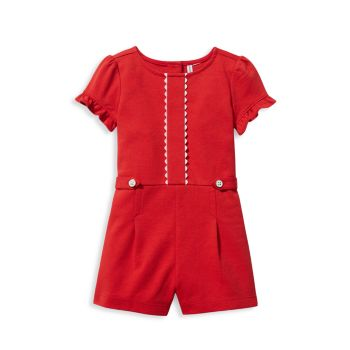 Baby's, Little Girl's & Girl's Ponte Romper Janie and Jack