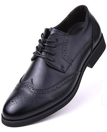 Мужские классические туфли-оксфорды в крапинку Wingtip Mio Marino