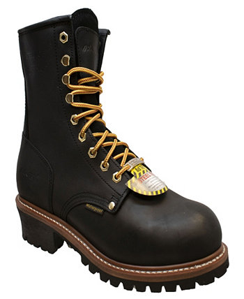 Мужские водонепроницаемые ботинки Logger со стальным носком 9 дюймов AdTec