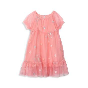 Baby & amp; Платье из тюля с украшением Little Girl's Precious Dandelion Hatley