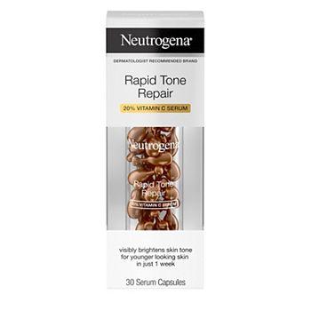 Neutrogena Rapid Tone Repair Brightening 20% Vitamin C Serum Capsules Neutrogena