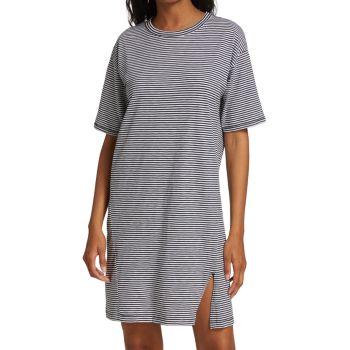 Striped T-Shirt Dress Rag & bone