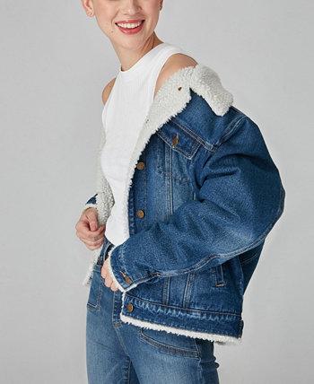 Куртка Trucker больших размеров Lola Jeans