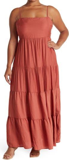 Многослойное платье с завязками на спине ONE ONE SIX
