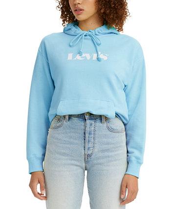 Женская толстовка с капюшоном с логотипом Levi's®