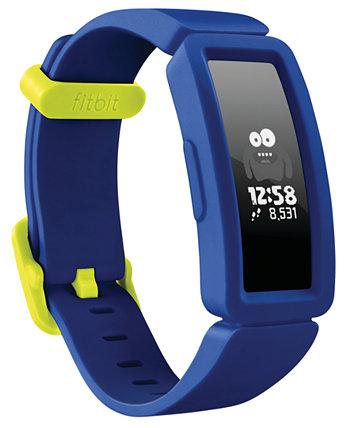 Детские умные часы с трекером активности Night Sky с силиконовым ремешком, 20,5 мм Fitbit