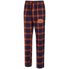 Men's Concepts Sport Navy/Orange Auburn Tigers Big & Tall Homestretch Flannel Pants Unbranded