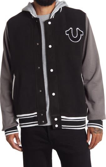 Куртка-бомбер с многослойным худи Varsity True Religion