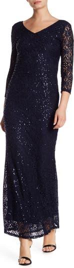 Кружевное платье с блестками MARINA