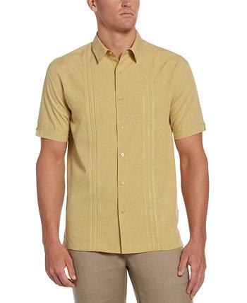 Мужская рубашка с вышивкой Geo Print Cubavera