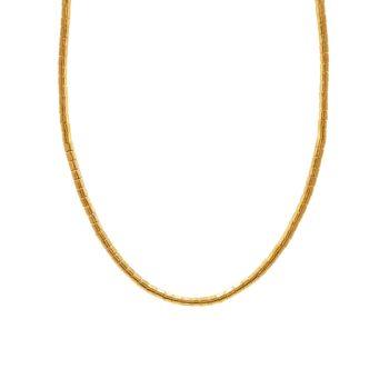 Однонитное колье Vertigo из желтого золота 24 карат Gurhan