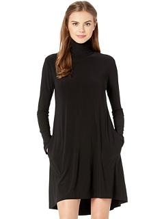 Свободное платье с длинным рукавом KAMALIKULTURE by Norma Kamali