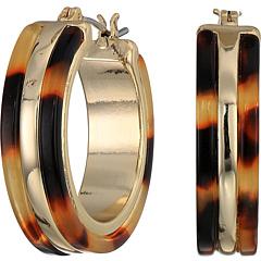 Серьги-кольца с черепахой Ralph Lauren