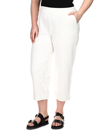 Plus Size Cuffed Crop Pants Michael Kors