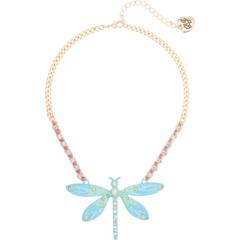 Ожерелье с подвеской в виде стрекозы Betsey Johnson