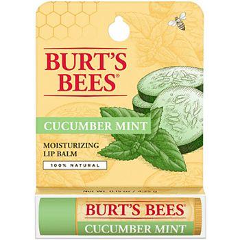 Бальзам для губ Burt's Bees с огурцом и мятой BURT'S BEES