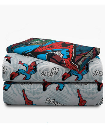 Spiderman Jump Kick 3-х частей из двух листов Marvel