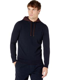 Толстовка-пуловер контрастного цвета Eleventy