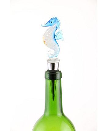Пробка для бутылок с морским коньком Three Star