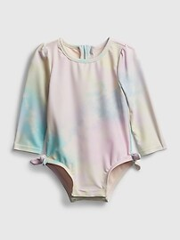 Сплошной купальник Baby Tie-Dye Swim Gap