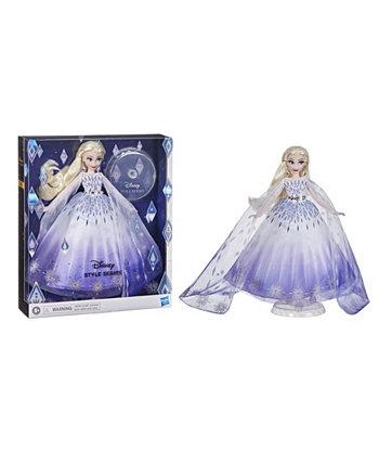Праздничная кукла Эльза серии Style Disney Princess