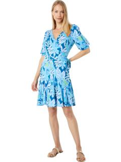 Kessler Wrap Dress Lilly Pulitzer