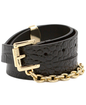 Swag Chain Leather Belt Michael Kors
