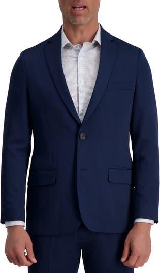 Однотонная однотонная куртка из эластичного вереска приталенного кроя в городском стиле Louis Raphael