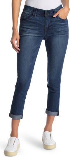 Укороченные узкие джинсы до щиколотки AB Tech Democracy