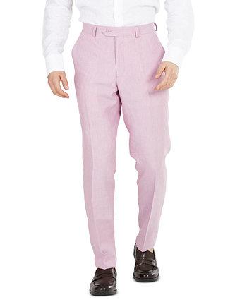 Men's Slim-Fit Linen Suit Pants, Created for Macy's Bar III